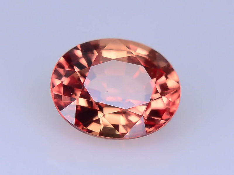 Top Grade 0.50 ct Peach Color Sapphire ~ K