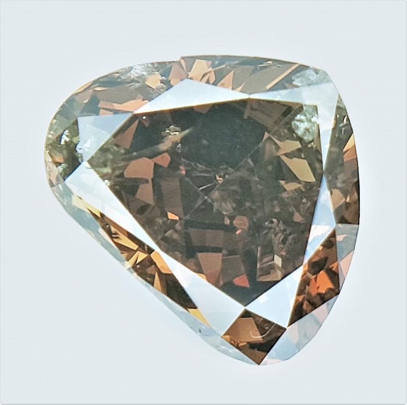 0.48 CTS , fancy Color Diamond , Fancy Cut Diamond
