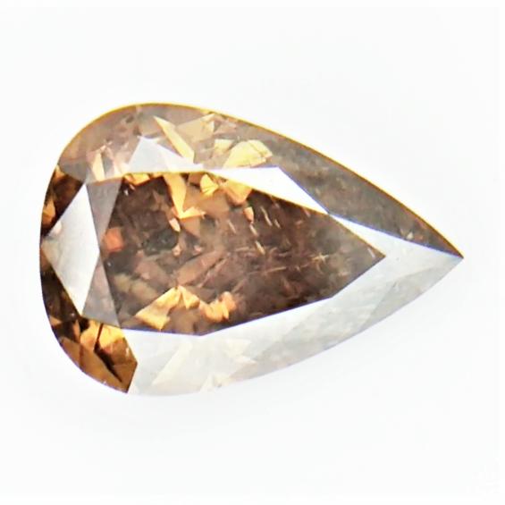 0.46 CTS , fancy Color Diamond , Fancy Cut Diamond