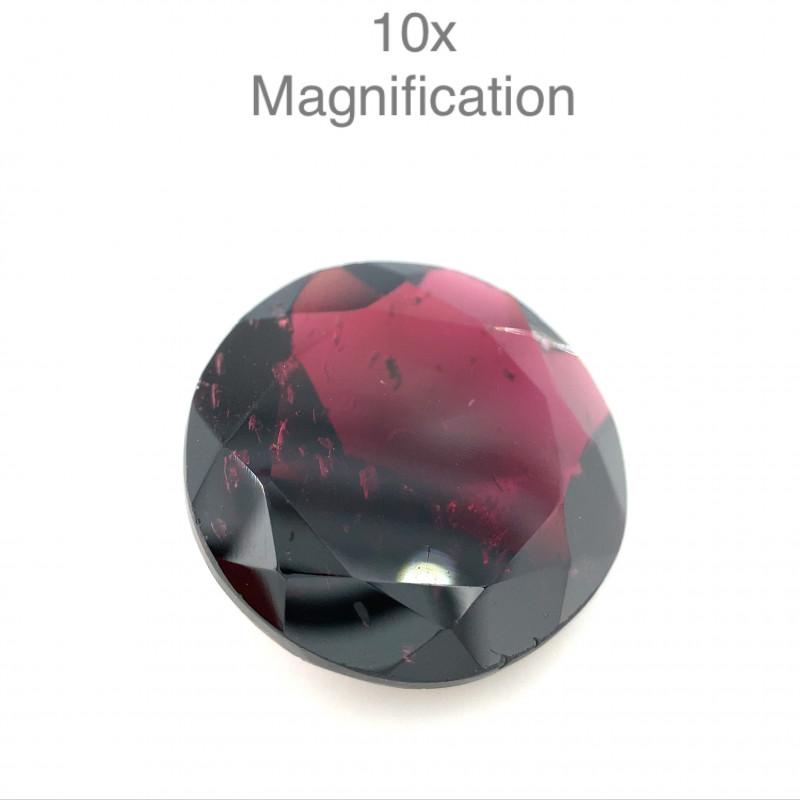 11.98ct Round Rhodolite Garnet