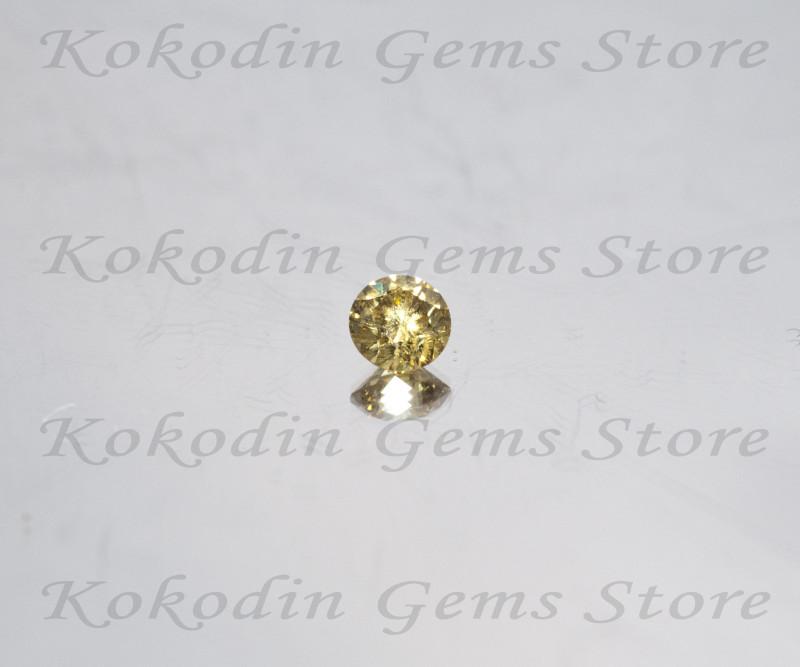 Natural Intense Yellow Diamond VS1  0.220 ct  LOT-524