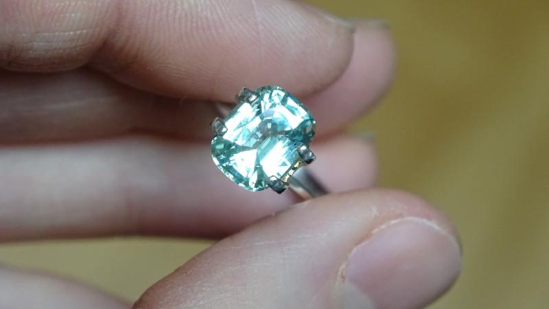 Chrysoberyl Vanadium - 3.03ct GRS Cert- Tanzania Tunduru -