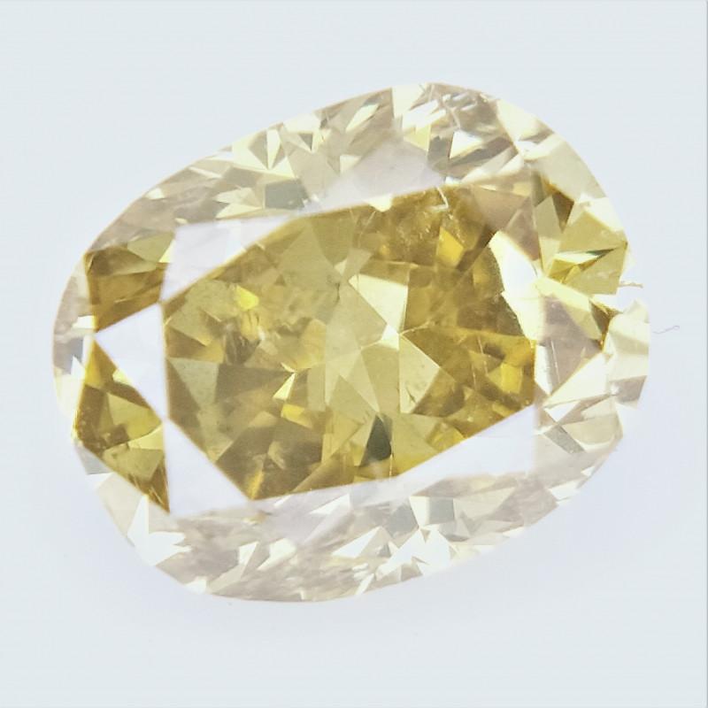 0.41 CTS , fancy Color Diamond , Fancy Cut Diamond