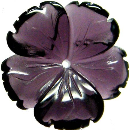 LARGE AMETHYST CARVING 20 MM 13.05 CTS [MX4183 ]