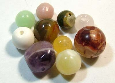 ASSORTED NATURAL BEADS (PARCEL) 15.00 CTS FNP1874 (NP-GR)