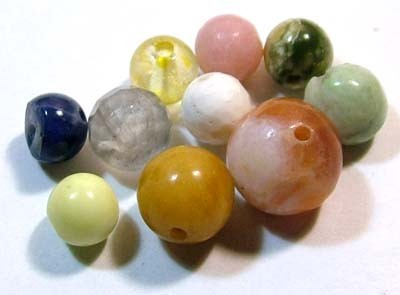 ASSORTED NATURAL BEADS (PARCEL)  13.25CTS FNP1870 (NP-GR)