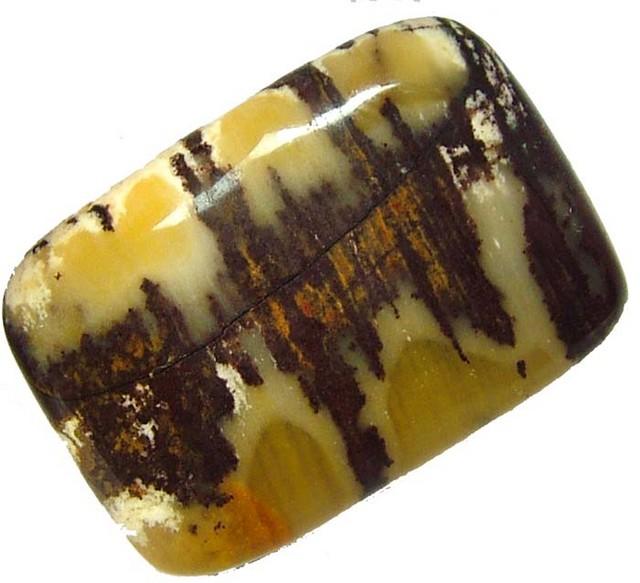 COCONUT JASPER -INDIA - 35.75 CTS [MX4341 ]