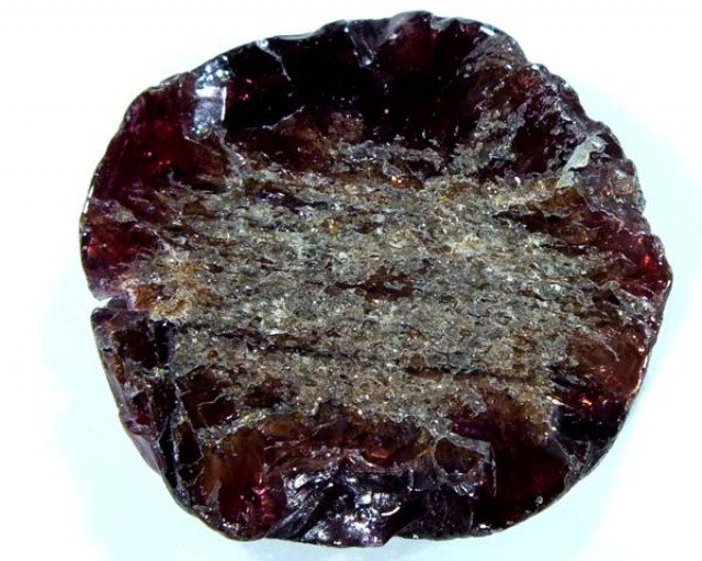 GARNET NATURAL BEAD DRILLED 24.10 CTS  NP-679