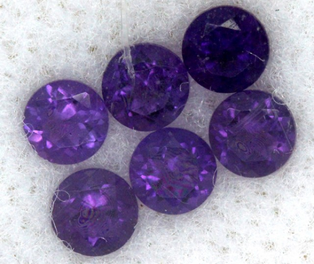AMETHYST FACETED STONE (PARCEL) 0.83 CTS CG - 491
