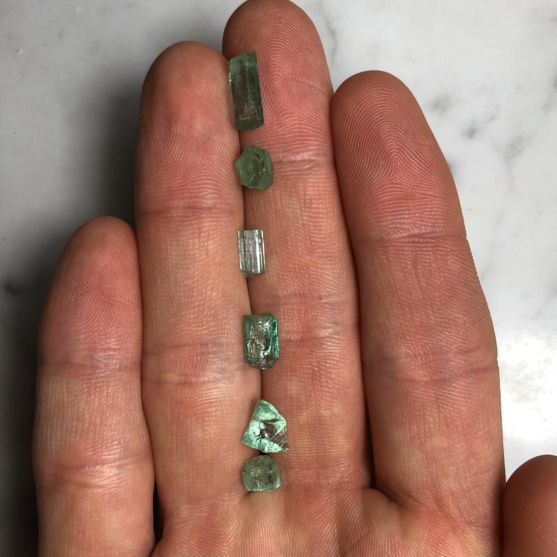 9.36 cts Emerald, Panjshir (Rough)