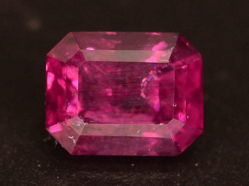 Lovely Cut 1.50 ct Pinkish Grape Garnet Ring Size