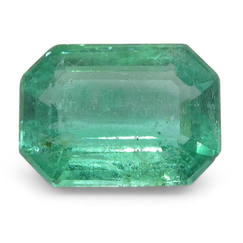 1.85ct Emerald Cut Emerald