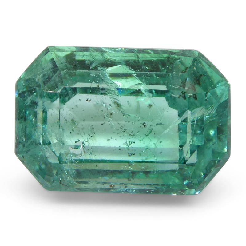 2.74ct Emerald Cut Emerald