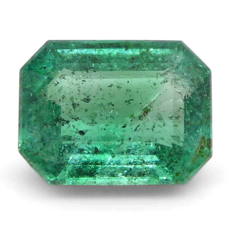 1.37ct Emerald Cut Emerald