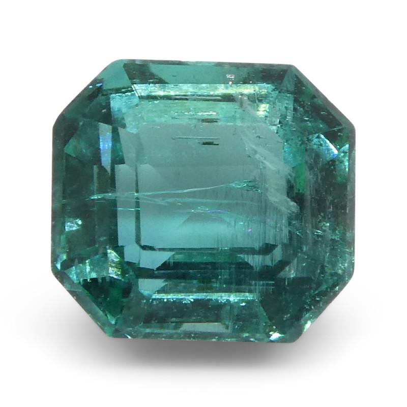1.35ct Emerald Cut Emerald