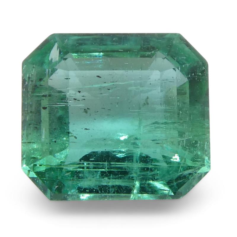 0.93ct Emerald Cut Emerald