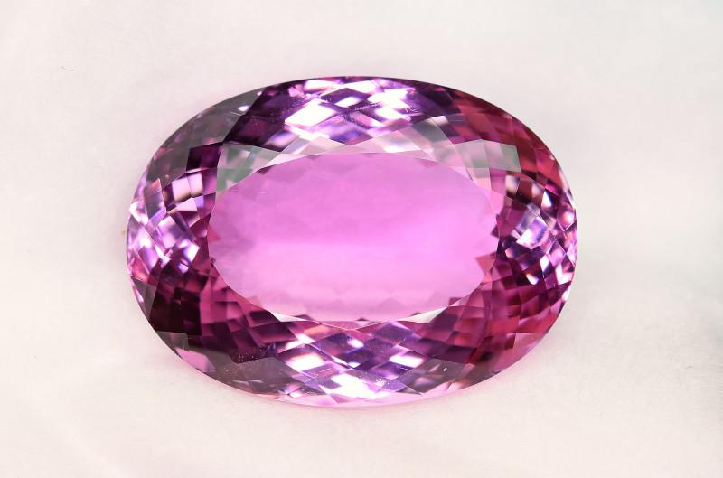 46.20Carat Top Pink Kunzite Huge Cut Gemstone