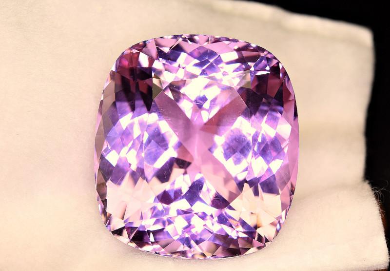 92.60Carat Top Pink Kunzite Huge Cut Gemstone