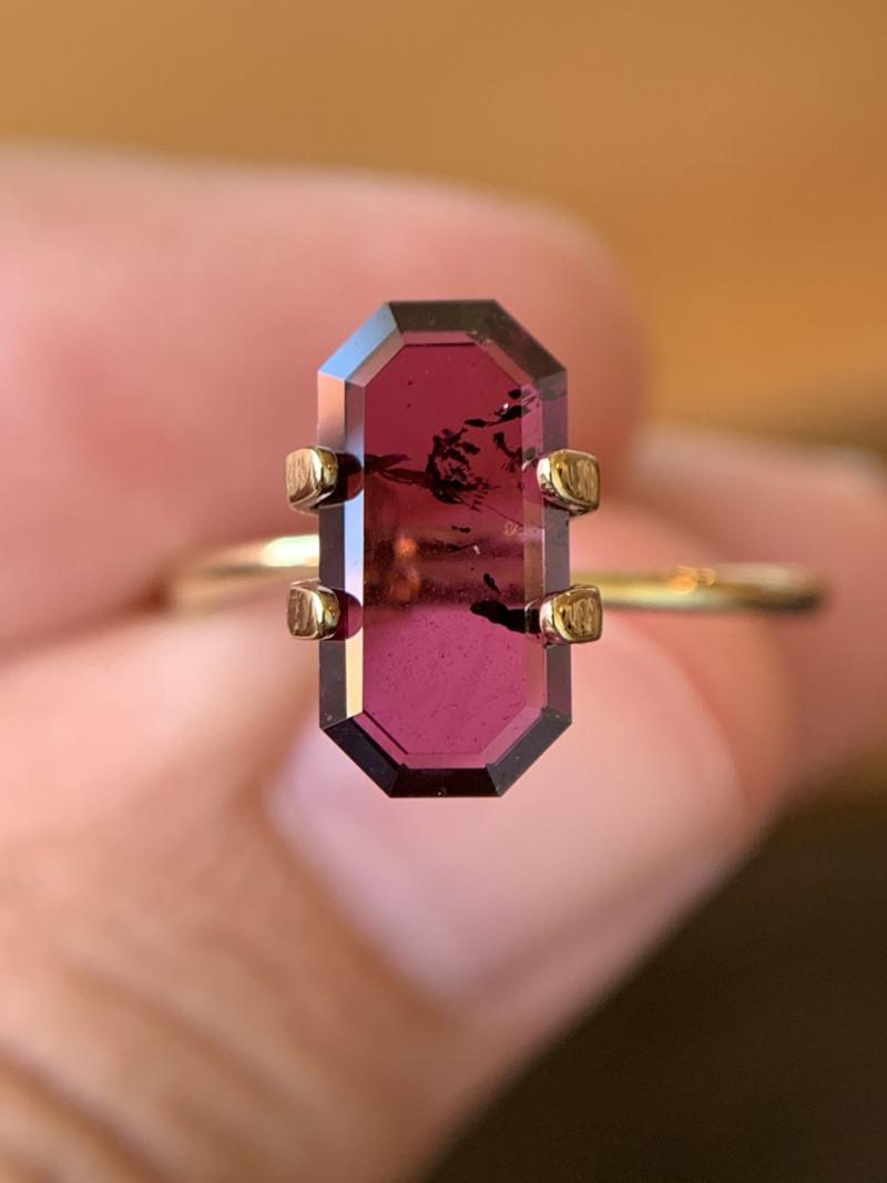 1.97 Ct Purple Idaho Garnet