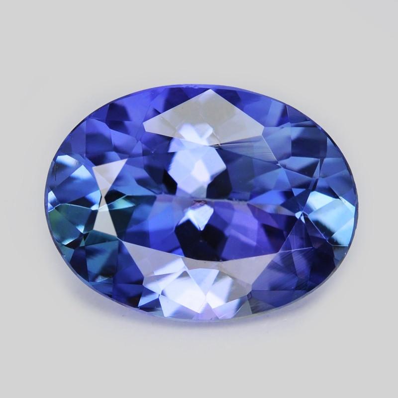 Tanzanite 1.16 Cts Amazing rare Violet Blue Color Natural Gemstone