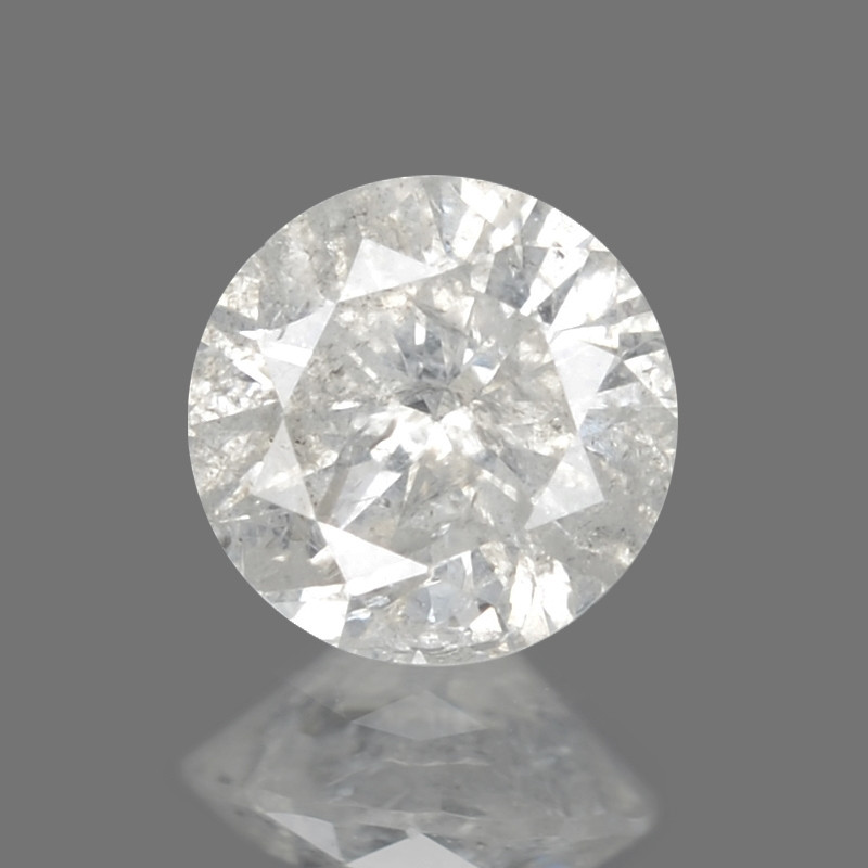 Diamond 0.18 Cts Untreated Fancy White Color Natural