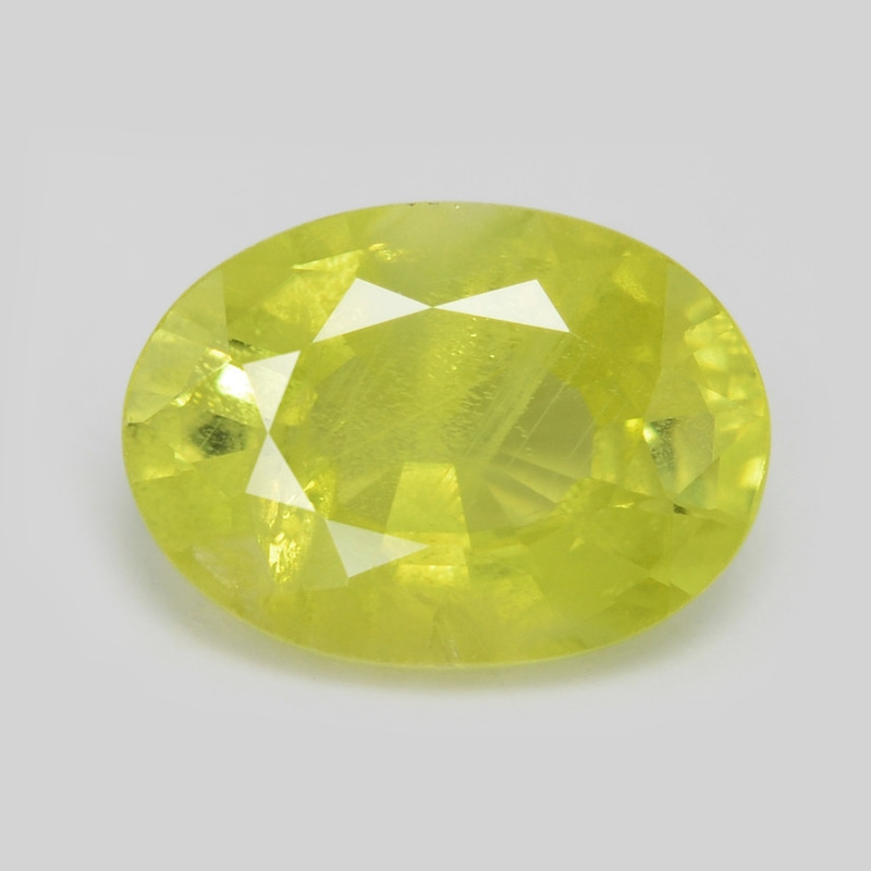 Chrysoberyl 1.07 Cts Very Rare Yellowish Green Color Natural Gemstone