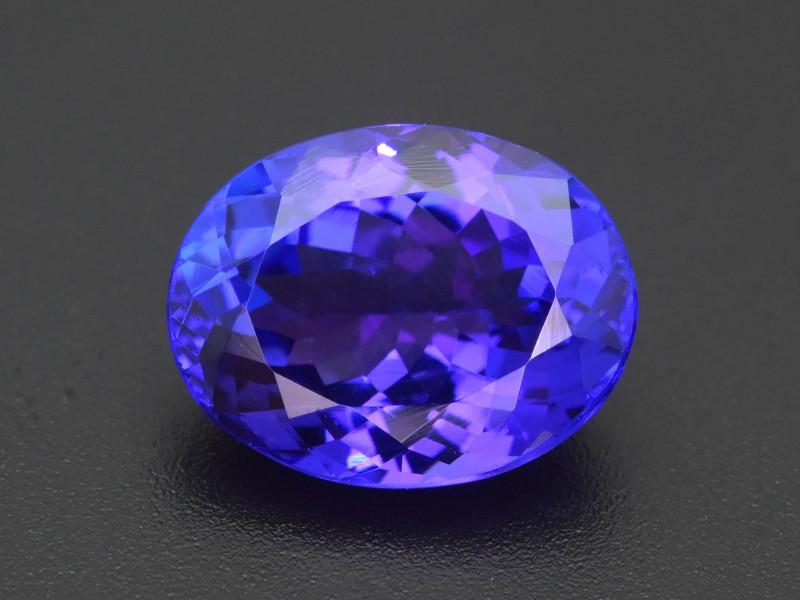 AAA Grade 5.11 ct Tanzanite eye catching Color SKU-35