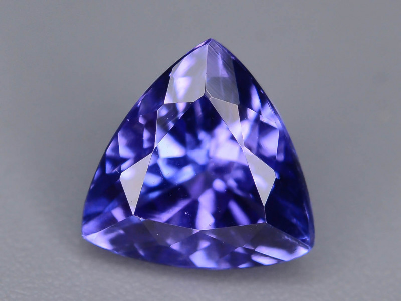 Deep Color 1.25 cts Top Grade Clean Tanzanite Eye Catching Ring Size