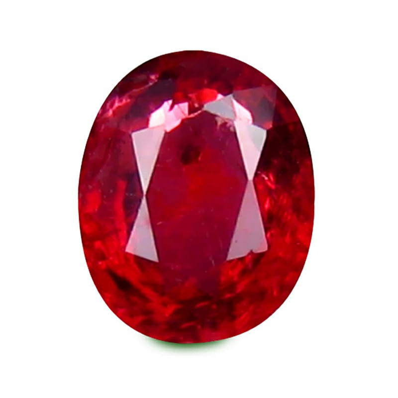 beautiful Spinel 0.43 Cts Red Step cut BGC812