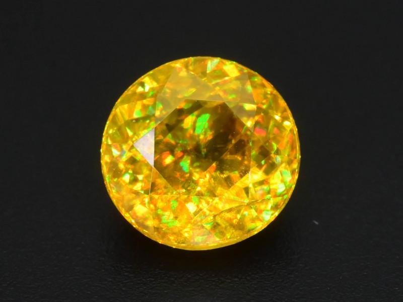 Rare AAA Fire 1.96 ct Malayaite Sphene Sku-76