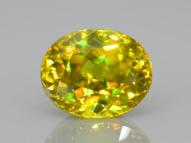 Rare AAA Fire 1.98 ct Malayaite Sphene Sku-76