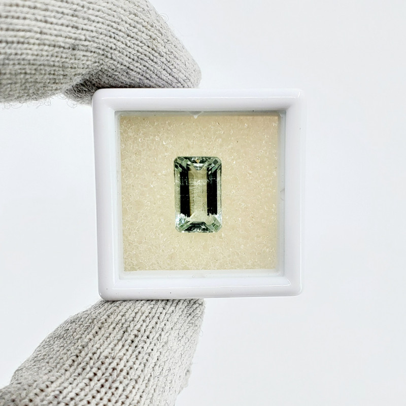 BEAUTIFUL 3.025 CT NATURAL MINT AQUAMARINE * ON SALE - $460 *