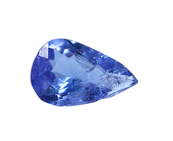 NR!! 0.75 CTs GGTI Certified~ Blue Tanzanite Gemstone
