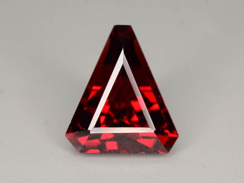 Top Grade 3.25  ct Fancy Cut Red Garnet
