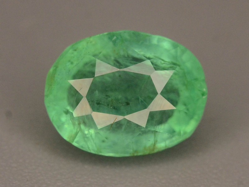 Top Color 1.20 ct Emerald~Afghanistan~K.S