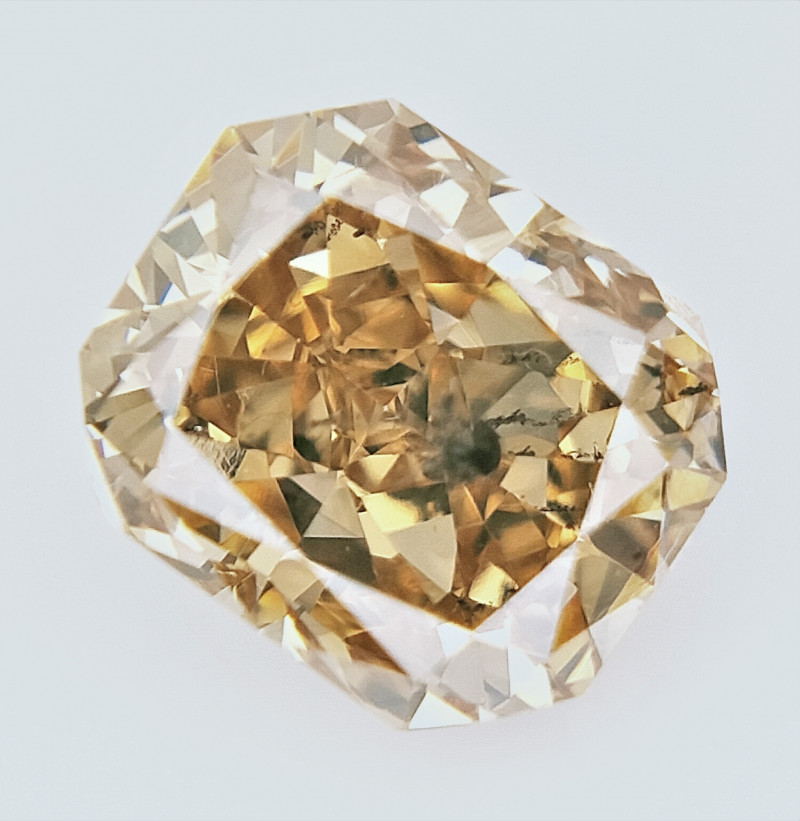 0.70 cts , fancy Color Diamond , Fancy Cut Diamond