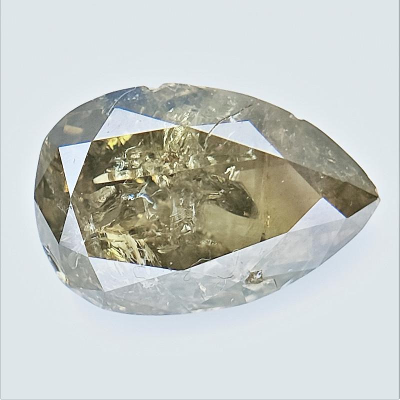 0.36 cts , fancy Color Diamond , Fancy Cut Diamond