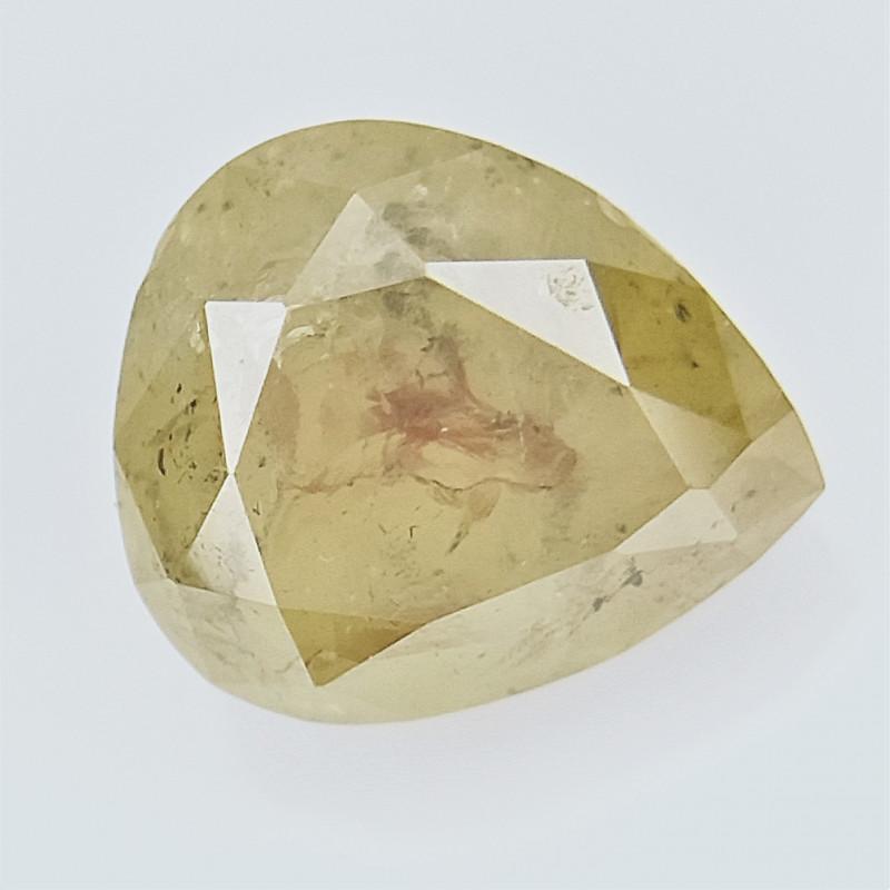 0.43 CTS  , fancy Color Diamond , Fancy Cut Diamond