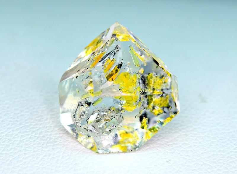12Carat Full Terminated undamaged Petroleum Diamond Quartz Crystal @PAK