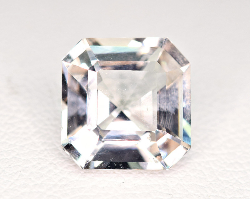 5Carat Full Lustrous Topaz Fancy Cut  Gemstone @Pak