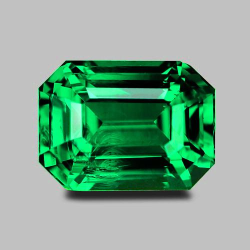Top gem quality, exquisite vivid green tsavorite garnet.