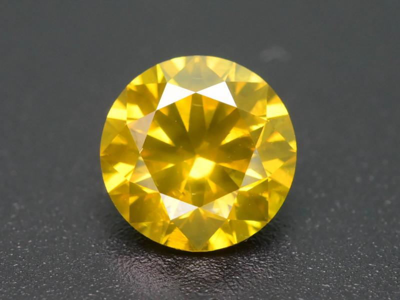 Yellow Diamond 1.10 ct Top Grade Brilliance SKU-28