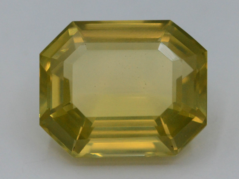 Citrine 16.90 Ct Natural Yellow Color Citrine A.Q