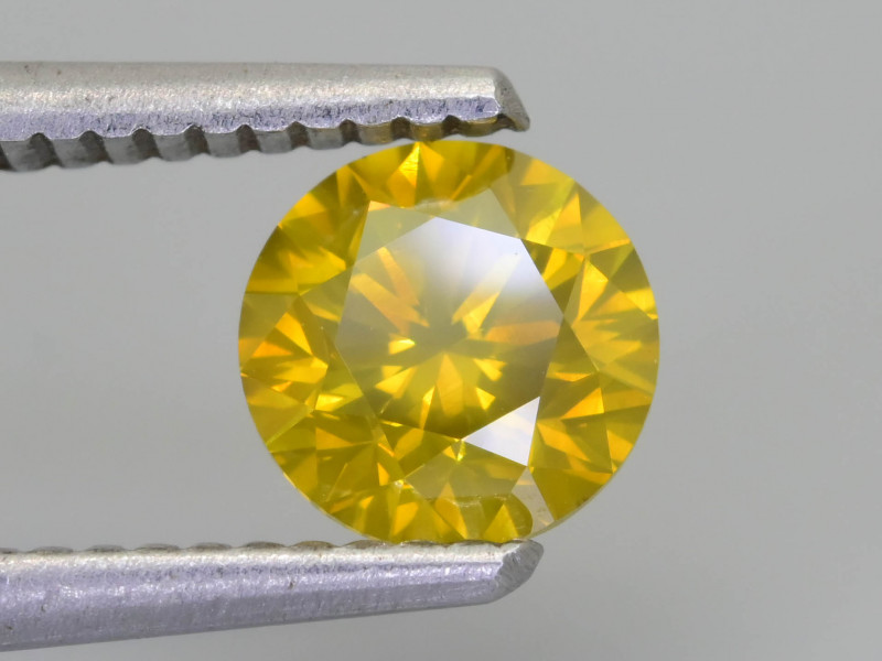Yellow Diamond 1.19 ct Top Grade Brilliance SKU-28