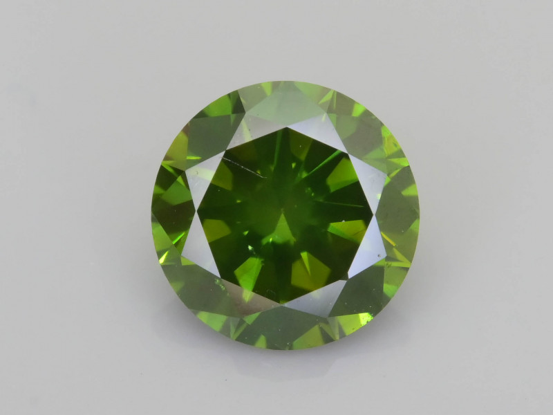 Green Diamond 1.04 ct Top Grade Brilliance SKU-28