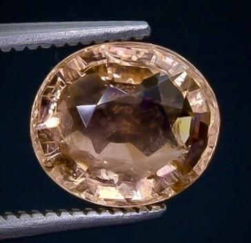 2.76 Crt  Tourmaline  Faceted Gemstone (Rk-72)