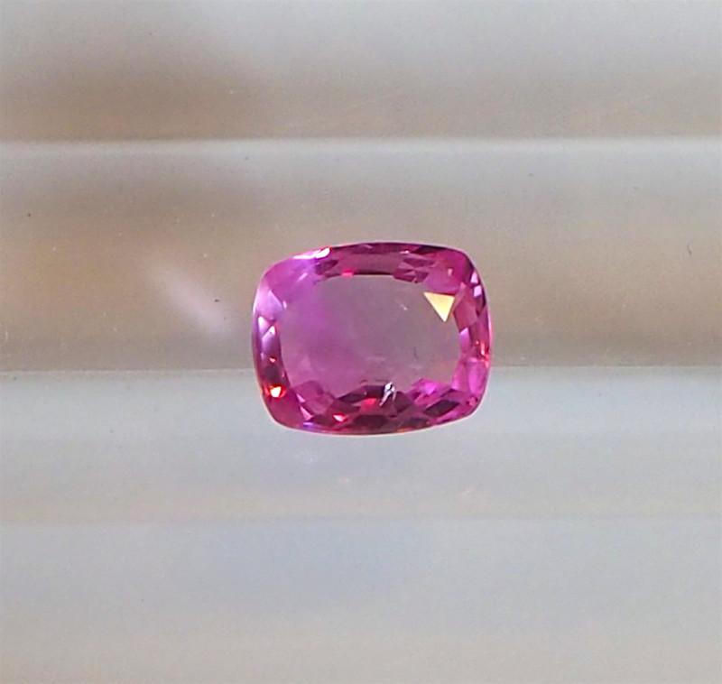 0.86ct unheated pink sapphire