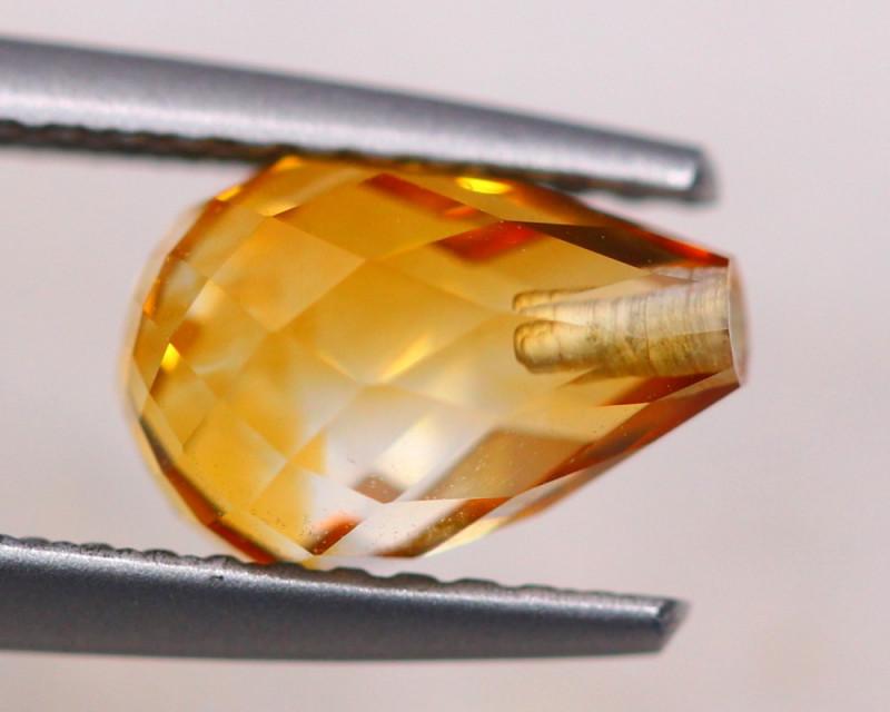 1.65ct Natural Yellow Citrine Fancy Cut Lot V8776