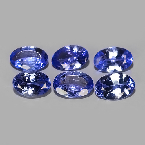 2.70  CTS MATCHING MIND BOGGLING NATURAL RICH FIRE RARE-TANZANITE