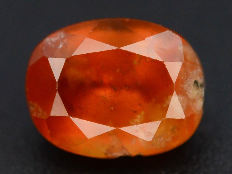 Top Color 2.10 ct Natural Hessonite Garnet ~ T